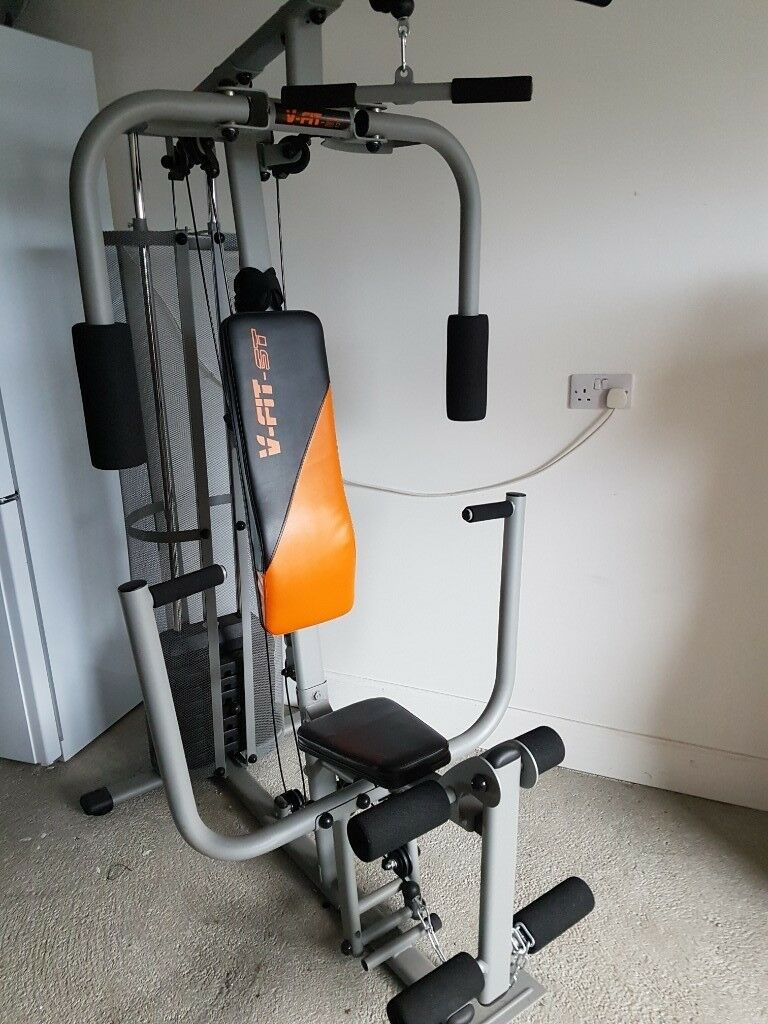 V fit cug herculean compact upright home multi gym in ellon
