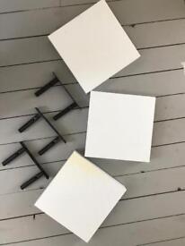 Floating Shelves (x3) 23.5cmx23.5cm