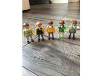 Playmobil figures bundle