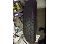 ROVER 75 ZT SPACESAVER WHEELS AND TYRES UNUSED
