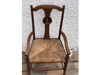 Lovely child's antique chair.