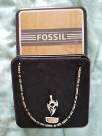 Fossil Men's Necklace and Pendant