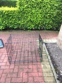 SMALL METAL DOG CRATE