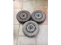Vauxhall Corsa wheels and tyres 185/55R15