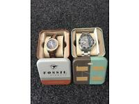 His and hers fossil watches