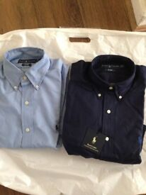 Ralph Lauren long Sleeve Men Shirts Regular fit US (S) = UK (M)
