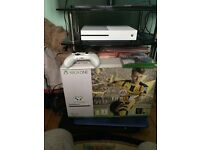 Xbox one s 1tb with Fifa 17 and battlefield 1