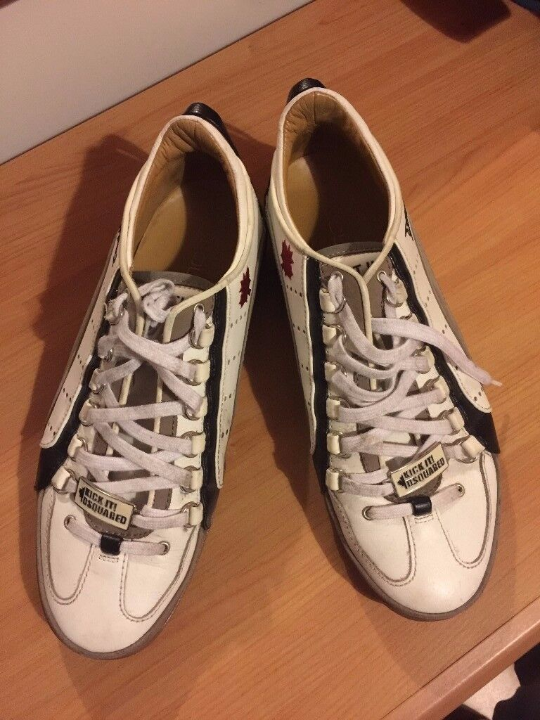 Dsquared2 shoes size 9 UK