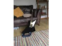 Epiphone 1958 reissue 'Black pearl' Explorer electric guitar