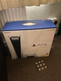 PlayStation 5 with extra controller