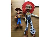 Talking Woody & Jessie Doll from Toy Story