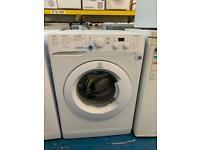 Indesit white good looking 7kg washing machine