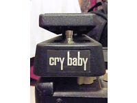 Jim Dunlop Original GCB95 Cry Baby Wah Pedal - very good condition