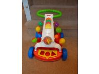 Baby Activity Walker and Wagon