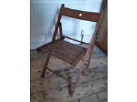 Ikea wood folding chair