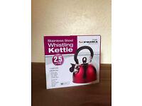 Brand New Stainless Steel Whistling Kettle