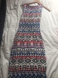 Dress size 8 long spring summer