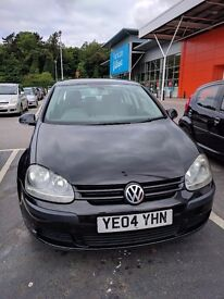 Volkswagen Golf 1.9 Tdi Manual 5dr Diesel Black Hatchback 10 month MOT