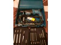 110v sds drill with bits and drills never used first to see will buy 07713282474
