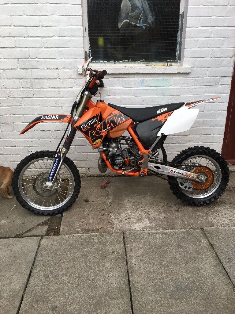 Ktm 85 cracking bike very very quick for what it is lifts in all gears