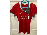 NIKE Liverpool Women's Football Shirt 2020 2021 Brand New