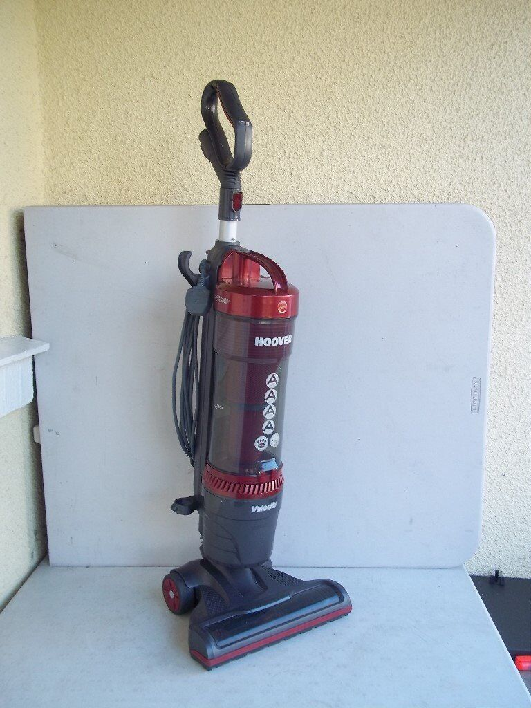 Hoover Velocity Bagless Upright Vacuum Cleaner *A RATED* - Carpets and hard floors -please read