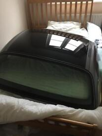 New condition Porsche Boxster S hardtop roof. Black & Seal Grey
