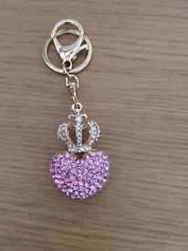 Pink key ring