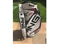 Ping K15 Scottsdale G15 golf bag
