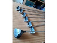 VERY NICE SET TOUR2MODEL Ti FORGED GOLF CLUBS 5-6-7-8-9-SW PLUS DRIVER