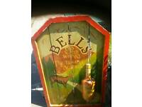 Antique Bell's Whisky Sign