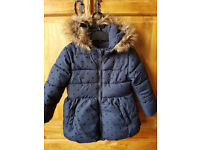 2 Girls Winter Coats Age 2 to 3 yrs