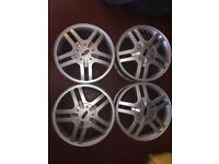 Ford Focus alloys x4 in good condition 2003 collect lochgelly