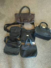 LEATHER HANDBAGS Radley Fatface, jasper conran etc