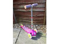 Disney Mini Mouse Pink Girls Scooter