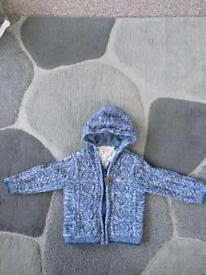 Baby coat jumper 12-18 month