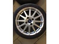 "Ford Fiesta zetec s alloys 4x108 16"""
