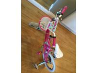 Girls bike for 4 or 5 year old