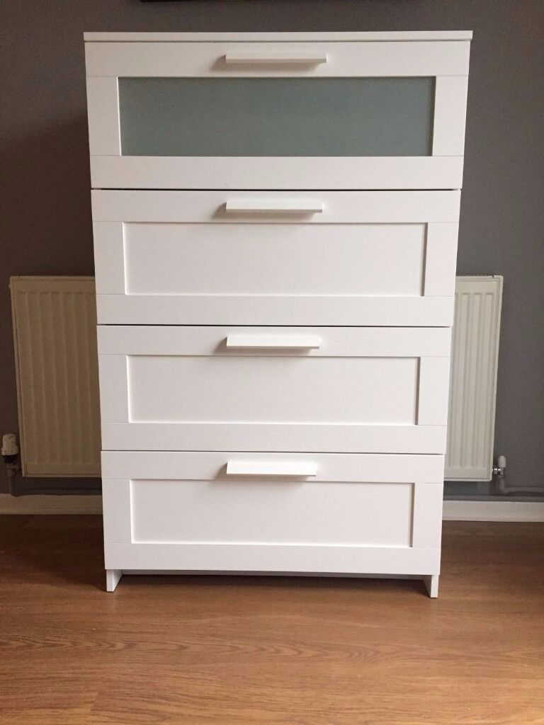 Ikea furniture 39 brimnes 39 4 drawer dresser white in oakwood derbyshire gumtree - White bedroom furniture ikea ...