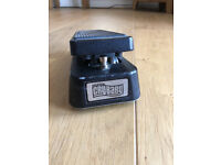 DUNLOP CRYBABY WAH PEDAL- 1980'S