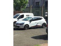 Renault clio white 65 plate