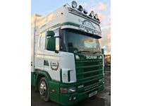 Scania box lorry 17000kg,11705ccdrives well solid engine