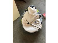 Used, Doomoo baby bean bag for sale  Oxford, Oxfordshire