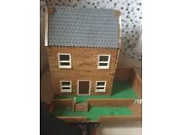 For sale 2 story wooden house no furniture inc