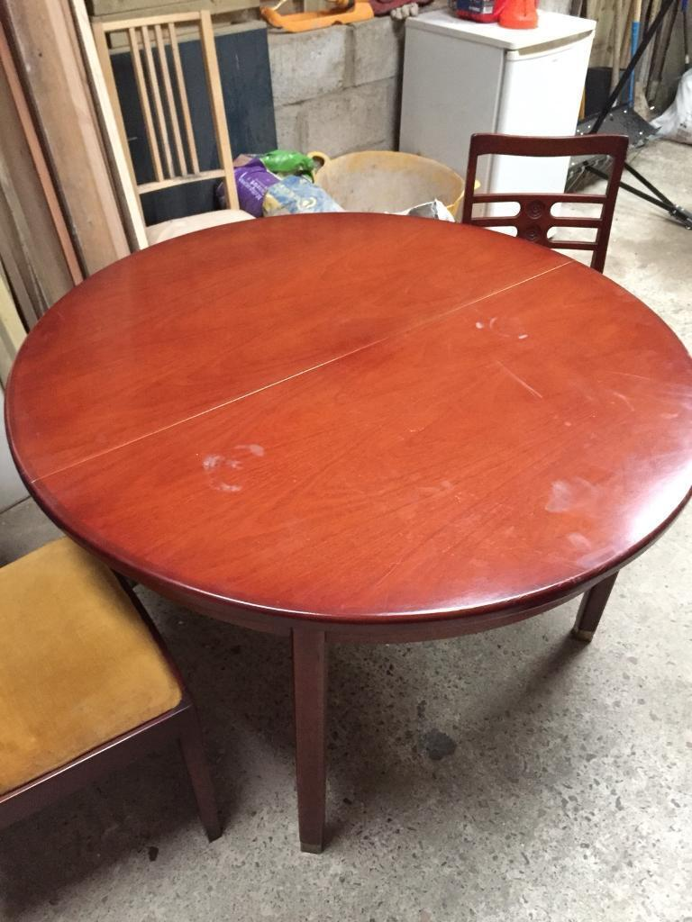 Dining table and chairs | in Plymouth, Devon | Gumtree