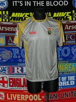 4/5 Racing Santander adults M 2009 third rare football shirt camiseta image