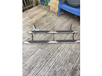 Mitsubishi shogun pair of stainless Steel side steps