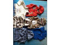 mix baby boys clothes 3-6
