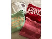 Bundle of Ladies Sweatshirts (includes 4) Size 8-10 - USED