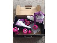 Roller skates ( never been worn )